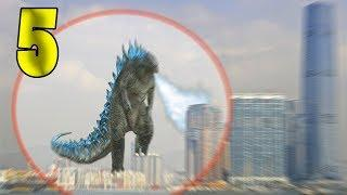 5 REAL ALIVE GODZILLA CAUGHT ON CAMERA & SPOTTED IN REAL LIFE 4