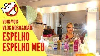 ESPELHO, ESPELHO MEU Vlog#014 Rosa&João - Caça Fantasmas Brasil