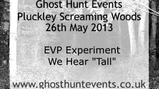 Pluckley Screaming Woods ghost voice