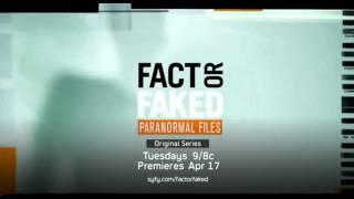 Fact Or Faked: Paranormal Files - NEW Season 2 (Logo)