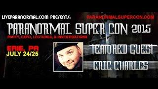 Paranormal Super Con 2015 Eric Charles
