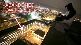 CLIMBING A HUGE ABANDONED TOWER (250ft)