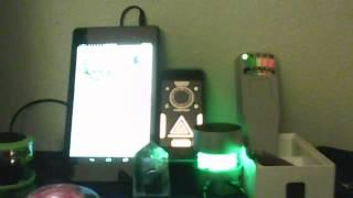 GV1 with Echovox: talking to the dead, in my room:  10/16/14