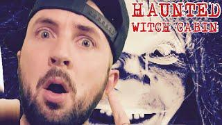 CURSED WITCH CABIN IN THE WOODS HAUNTED BY GHOSTS