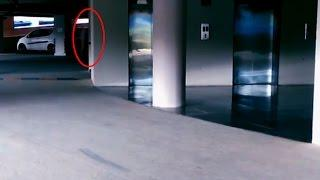 Ghost Caught On Tape | Ghostly Shadow In Parking Area | Haunted Scary Videos | Ghost Sighting
