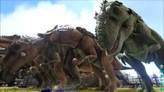 ARK Xbox One [FR] MEGA BASE ALPHA (BANDE ANNONCE #20 Je visite les construction des abonnés)
