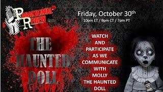 LIVE Haunted Doll Communication: Halloween Eve