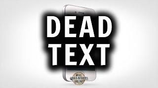 Dead Text | Ghost Stories, Paranormal, Supernatural, Hauntings, Horror