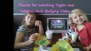 """CUTE KIDS """"NO MORE BULLIES""""  VIDEO  by the Children of The G Team Paranormal"""