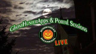 LIVE GhostHunterApps & Portal Sessions - LIVE Ghost Box ITC Experiments