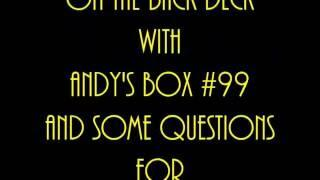 Andy's Box 99 on The Back Deck