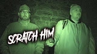 PARANORMAL ACTIVITY ON CAMERA (WANTED TO SCRATCH US) IN HAUNTED BATTLEFIELD GRAVEYARD