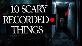 10 Scary Things That People Caught On Tape II