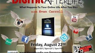 Paranormal Review Radio: Your Digital Afterlife-What Happens to Your Social Media When You Die