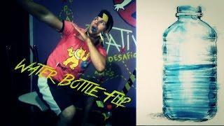 Water Bottle Flip CHALLENGE VS 100 pregadores