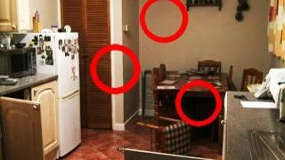 Ghost Orbs Caught on Video after Poltergeist Activity. Real ghost or dust?