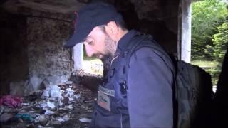 Έρευνα στο παλιό Σανατόριο στην Πάρνηθα Α ' μέρος