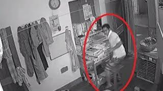 Spine Chilling Ghost Attack Video Caught On CCTV Camera | Scary videos | RealGhost Attack