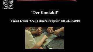 Ouija / Gläserrücken - Kontakte (!!) zum Nachdenken am 02.07.2016
