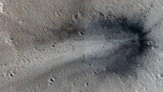 Here's a Fresh, Never Before Seen Impact Crater on Mars