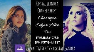 Hang out with us and talk about Astral Projection with Krystal and Cat