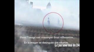 Extraterrestre filmé dans un Crop Circle
