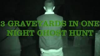 3 graveyards in one night ghost hunt 10/6/16 dark knights paranormal