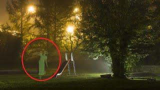 OMG!! Ghost Caught On CCTV From Play Ground!! Real Ghost Videos