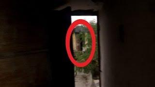 REAL Scary Violent figure caught on tape !! Paranormal Ghost Entity Caught on Camera