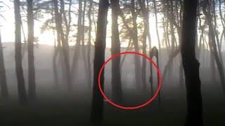 Ghost Accidentally Caught on Camera From a Forest, Shocking Ghost Attacks 2017