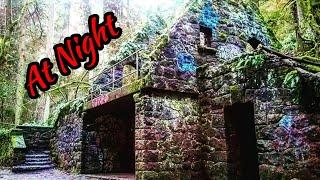 Witch's Castle GhostHunt at night- Portland, Oregon.