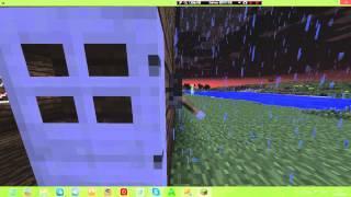 Трейлер по фильму паранормальные явление в Minecraft