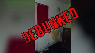Bizarre Figure Caught On Camera In haunted House DEBUNKED