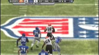 Madden 2012 Future Superbowl...Cleveland Browns Vs New York Giants
