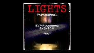 "EVP 6/5/2011 - ""Are you playing a game?...No"""