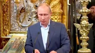 ΣΟΚ!!Αόρατος ασκητής καταγράφηκε στην εμφάνιση του Πούτιν στο Άγιο Όρος! Στο 3.55 του βίντεο!!!