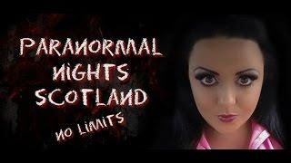Paranormal Nights Scotland / Niddry street vaults Advert