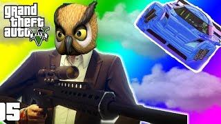 VanossGaming GTA 5 Online Funny Moments   Paper Bag Man, Valkyrie Chopper, Night Owl Cave!