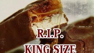 R.I.P. Discontinued King Size Snickers Candy Bar