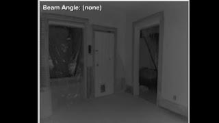 Live IR skeleton tracking at a Haunted Area 4hr feed