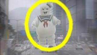 TOP 5 MARSHMALLOW MAN CAUGHT ON CAMERA & SPOTTED IN REAL LIFE!