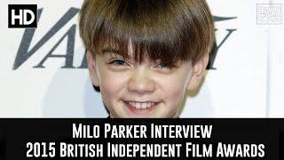 Milo Parker (Mr Holmes) Interview - The 2015 British Independent Film Awards