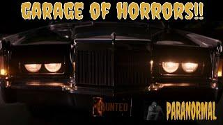 GARAGE OF HORRORS! (LOTS OF PARANORMAL ACTIVITY HERE)!!!