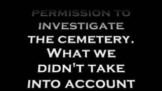 Carterville Cemetery Paranormal Investigation