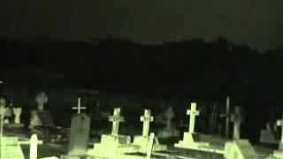 Malaysian Ghost Research - Cemetery People-like Shadow