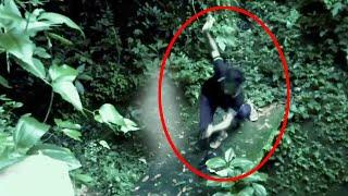 Real Video Of A 'Ghost' Following A Man In An Abandoned Road!!