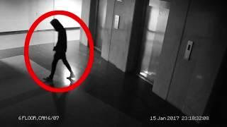 Ghost Seen On Road At Night | Ghost Like Figure Caught On Camera At Night | Ghost Seen On Elevator