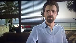 GTA V Franklin is being chased by the police