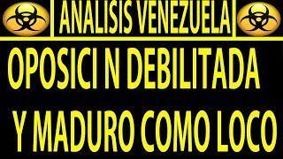 NOTICIAS DE HOY 14 DE AGOSTO / VENEZUELA / LA OPOSICION SE DEBILITA Y MADURO AVANZA