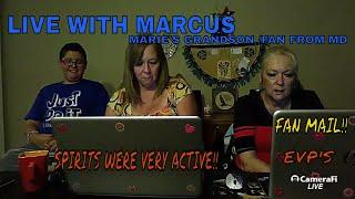 LIVE WITH MARIE'S GRANDSON/BIG FAN FROM MD! FAN MAIL/EVP'S!!